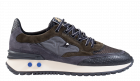 Floris van Bommel 16488/00 G1/2 Green Suède Sneaker