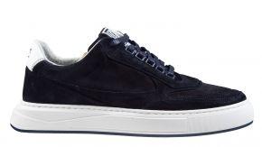 Floris van Bommel 16323/00 G1/2 blue suède sneaker