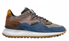 Floris van Bommel 16339/24 G1/2 bluesuède sneaker.