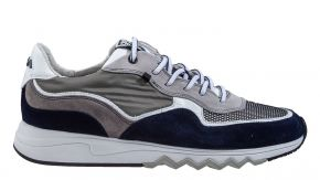 Floris van Bommel 16392/03 G1/2 grey textile sneaker