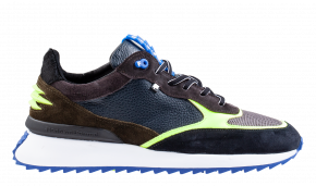 Floris van Bommel 16486/00 blue calf Sneaker