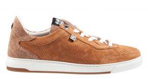Floris van Bommel 85341/03 cognac nubuck sneaker