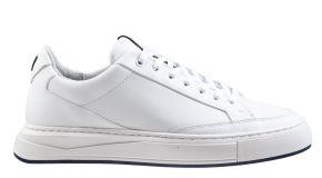 Van Bommel 13380/02 White Calf Sneaker