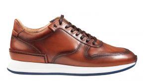 Van Bommel 16334/00 G1/2 cognackalfsleersneaker.
