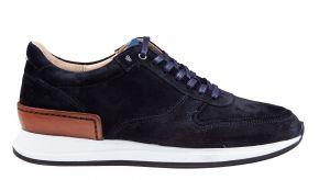 Van Bommel 16334/04 G1/2 blauw suède sneaker
