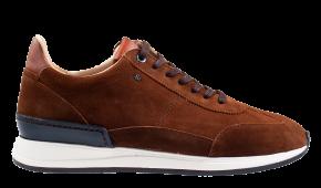 Van Bommel 16336/07 G1/2 cognac suède Sneaker